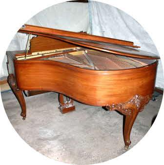 J&c fischer piano